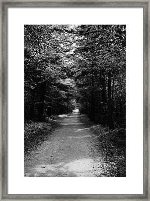 September Framed Print by Joshua Volff