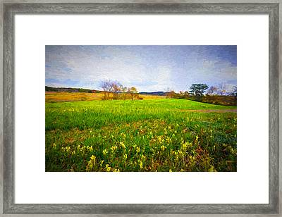 September Landscape Framed Print