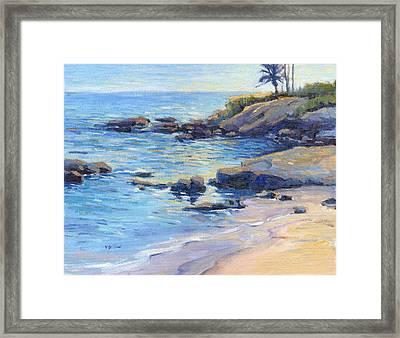 September Light / Laguna Beach Framed Print