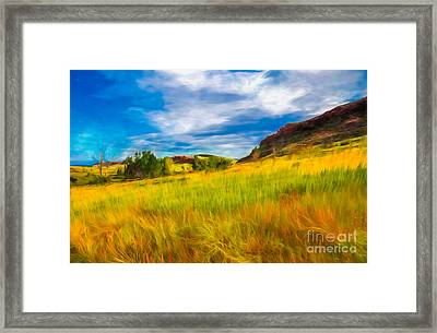 September Morn Framed Print by Jon Burch Photography