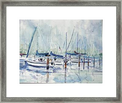 September Mourning Framed Print by Ruth Mabee
