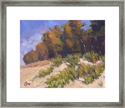 September Song Framed Print by Michael Camp