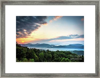 Framed Print featuring the photograph September Sunrise by Douglas Stucky