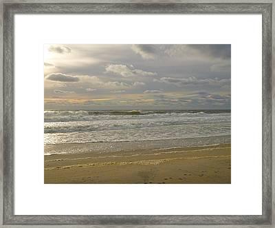 September Sunrise Framed Print