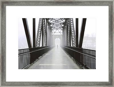 Septembers Bridge Framed Print