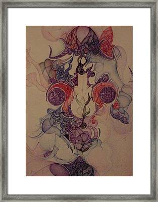 Framed Print featuring the drawing Septenber 2001 by Jack Dillhunt