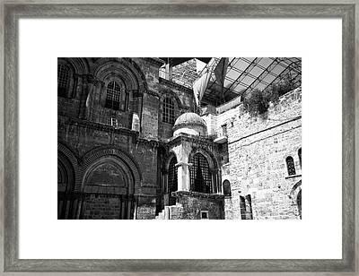 Sepulchre Architecture Framed Print