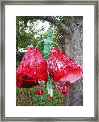 Ser Abierto Framed Print by Michelley QueenofQueens