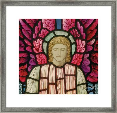 Seraphim Angel Detail, 1897 Framed Print