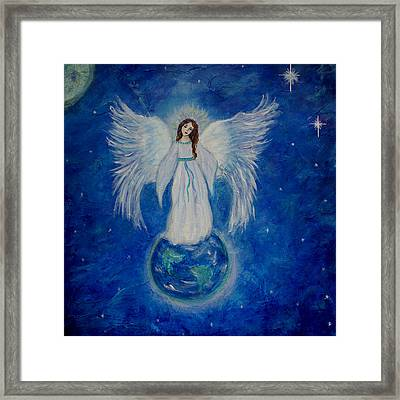 Seraphina Framed Print by The Art With A Heart By Charlotte Phillips