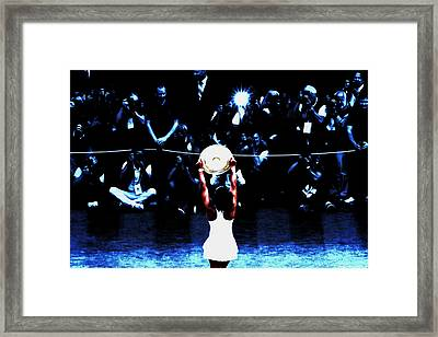 Serena And The Prize Framed Print by Brian Reaves