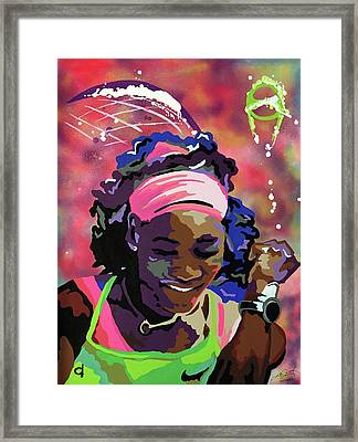 Serena Framed Print by Chelsea VanHook