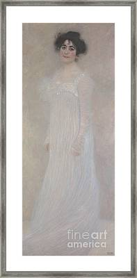 Serena Pulitzer Lederer, 1899 Framed Print by Gustav Klimt