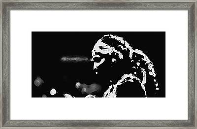 Serena Williams 022 Framed Print by Brian Reaves