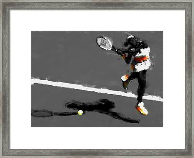 Serena Williams 5r Framed Print