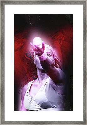 Serena Williams Lioness Framed Print
