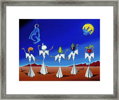 Serenade Of The Sisters Framed Print
