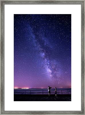 Serenade Under Milky Way Framed Print by Okan YILMAZ