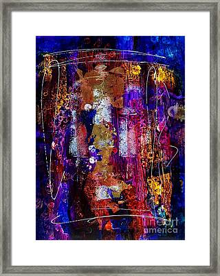 Serendipity 003 Framed Print by Donna Frost