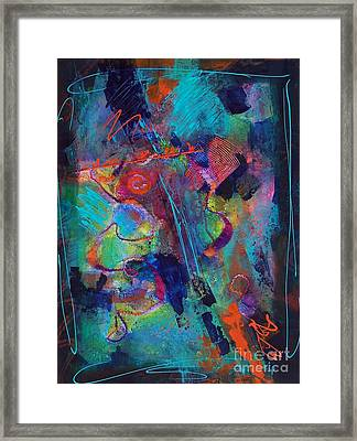 Serendipity 005 Framed Print by Donna Frost