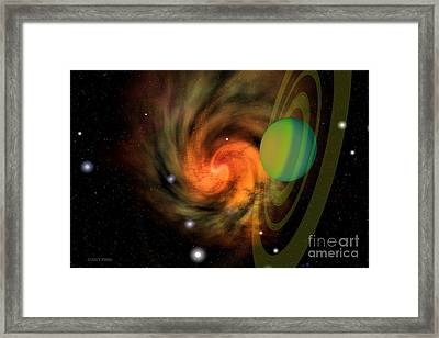 Serendipity Framed Print by Corey Ford