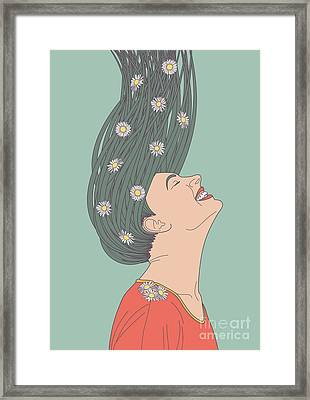 Serendipity Framed Print by Freshinkstain