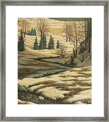 Serene Afternoon Framed Print