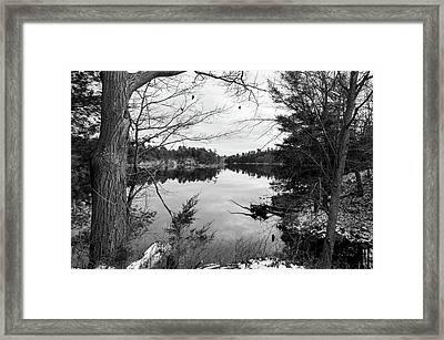 Serene Fall  Framed Print