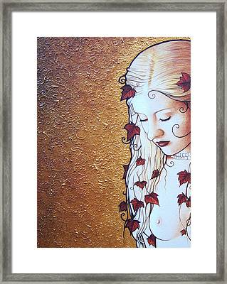 Serene Ivy Framed Print by Yuri Leitch