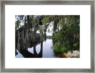 Serene River Framed Print by Gordon Mooneyhan