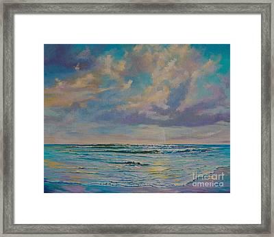 Serene Sea Framed Print
