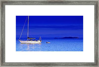 Serene Seas Framed Print by Holly Kempe