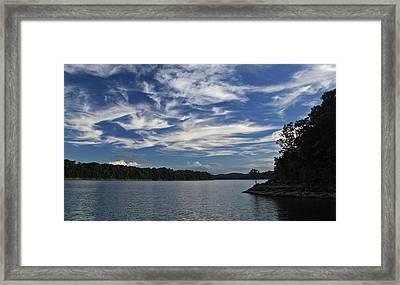 Serene Skies Framed Print by Gary Kaylor