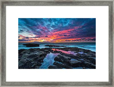 Serene Sunset Framed Print