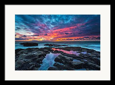 Sunset Framed Prints