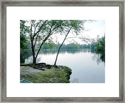 Serene Sweetwater Framed Print by Paul Barlo