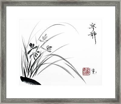 Serene Tranquility Framed Print