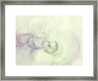 Serene Zen Minimalism Abstract Framed Print by Georgiana Romanovna