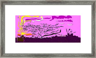 Serengeti  Framed Print by Angela A Stanton