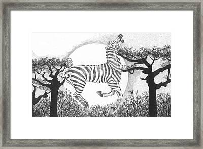 Serengeti Dreams Framed Print