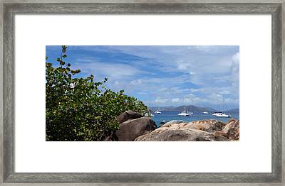Serenity Abounds Framed Print by Ginger Howland