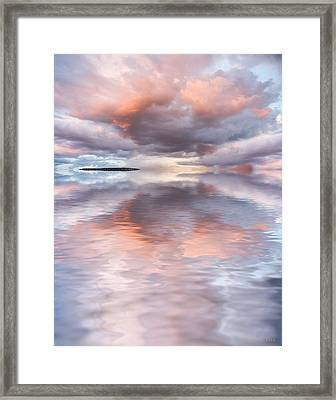 Serenity And Peace Framed Print by Jerry McElroy