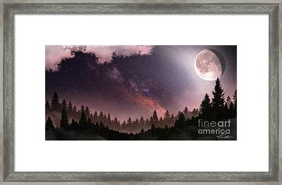 Framed Print featuring the digital art Serenity by Anthony Citro
