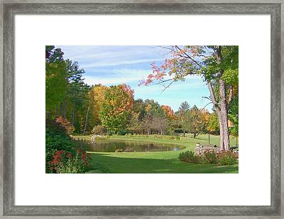 Framed Print featuring the digital art Serenity by Barbara S Nickerson