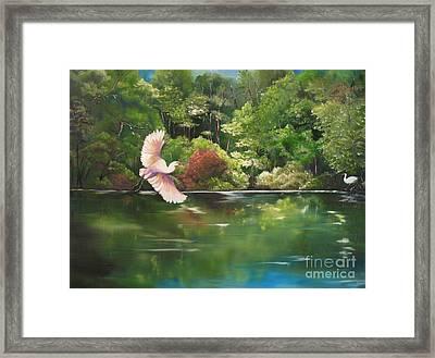 Serenity Framed Print by Carol Sweetwood