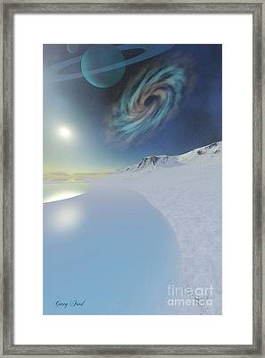 Serenity Framed Print by Corey Ford