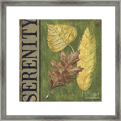 Serenity Framed Print by Debbie DeWitt