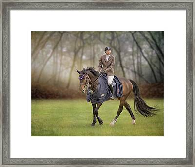 Framed Print featuring the photograph Serenity by Debby Herold