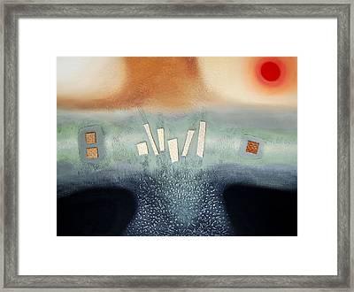 Serenity Framed Print by Farhan Abouassali