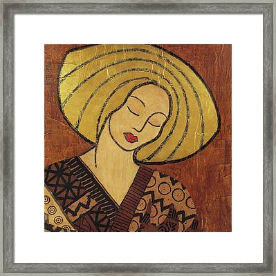 Framed Print featuring the mixed media Serenity by Gloria Rothrock